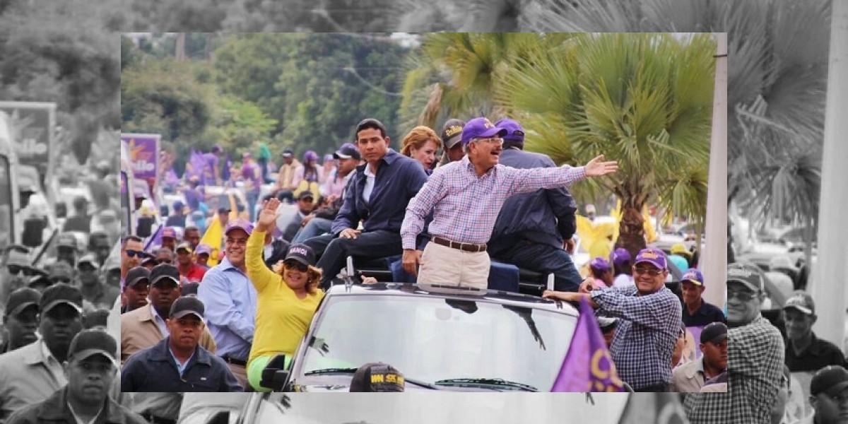 Danilo cierra su campaña en San Juan,  su tierra natal