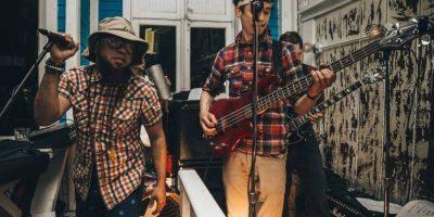 """Grupo """"Hecho en Brooklyn"""" Foto:Amaury Díaz"""
