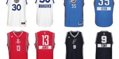 Camisetas Curry, la más vendida en la presente temporada de la NBA