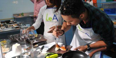 La grata experiencia de cocinar entre colegas