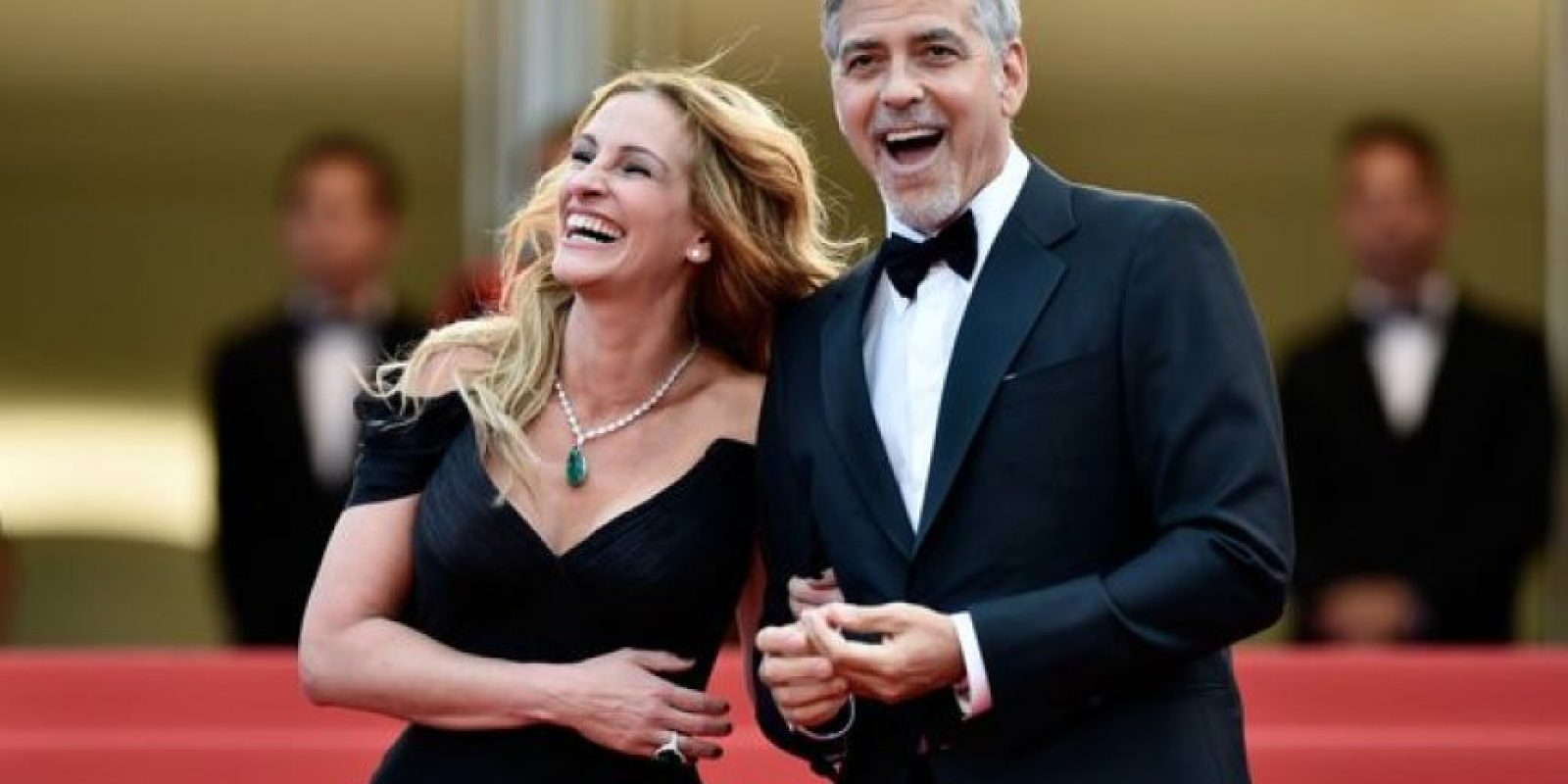 Se presentó junto a George Clooney Foto:Getty Images
