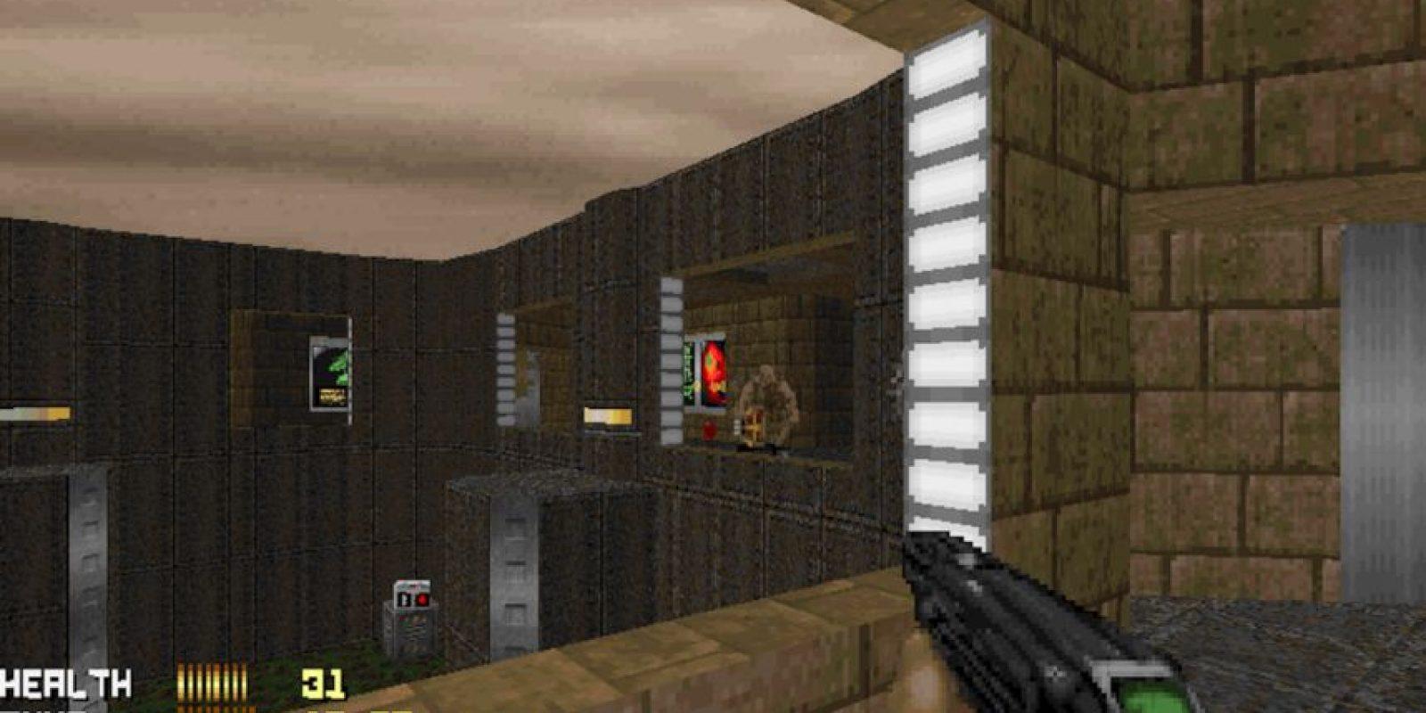 Fue tan famoso que Bill Gates promocionó Windows 95 con el fondo de este juego Foto:freedoom.sourceforge.net/screenshots/