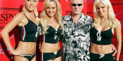 """O """"Girls Next Door"""". Y la época en que se lanzó fue la última gloriosa de Playboy. Foto:vía E!"""