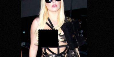 Lady Gaga también lo mostró. Foto:vía Getty Images