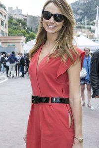 Stacy Keibler y su abertura. Foto:vía Getty Images