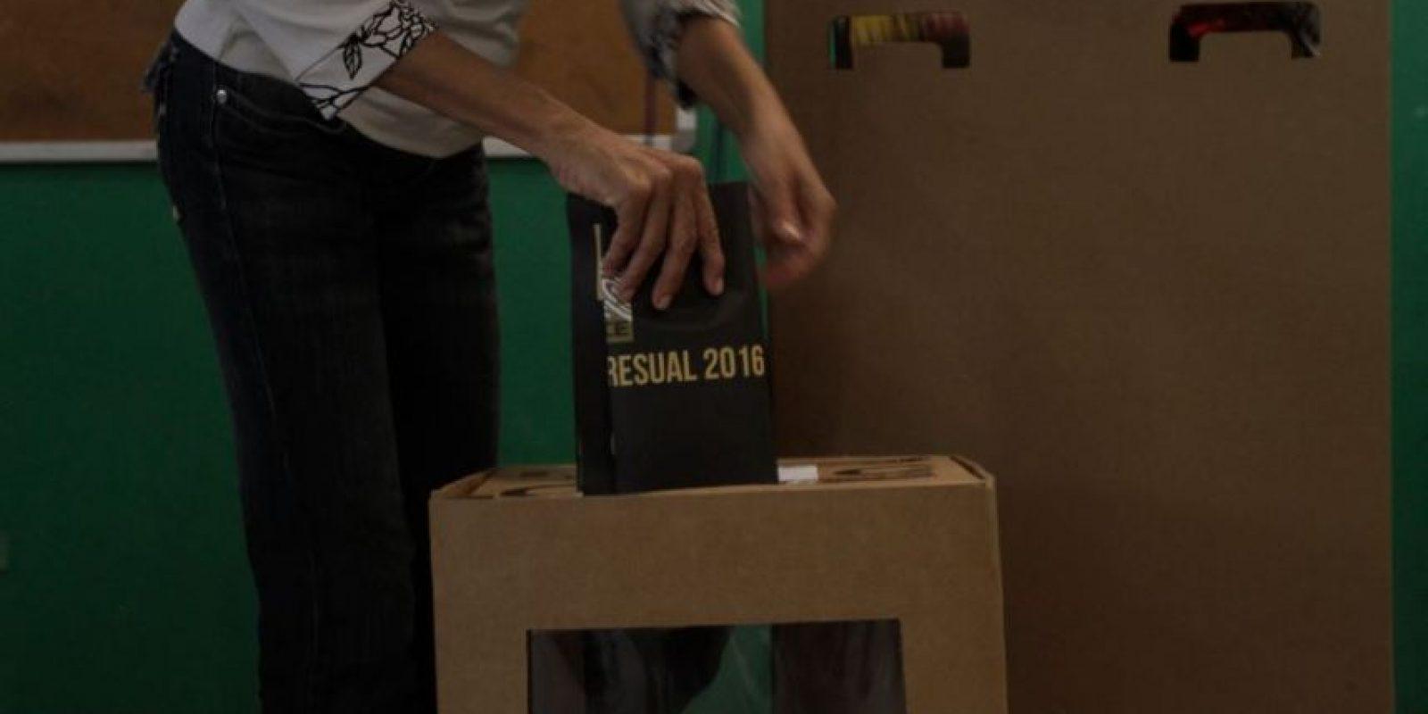 Votaciones del 15 de mayo Foto:Roberto Guzmán