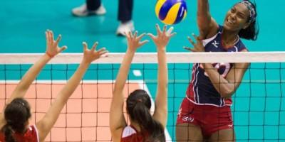 RD pierde frente a Perú en Preolímpico de Voleibol