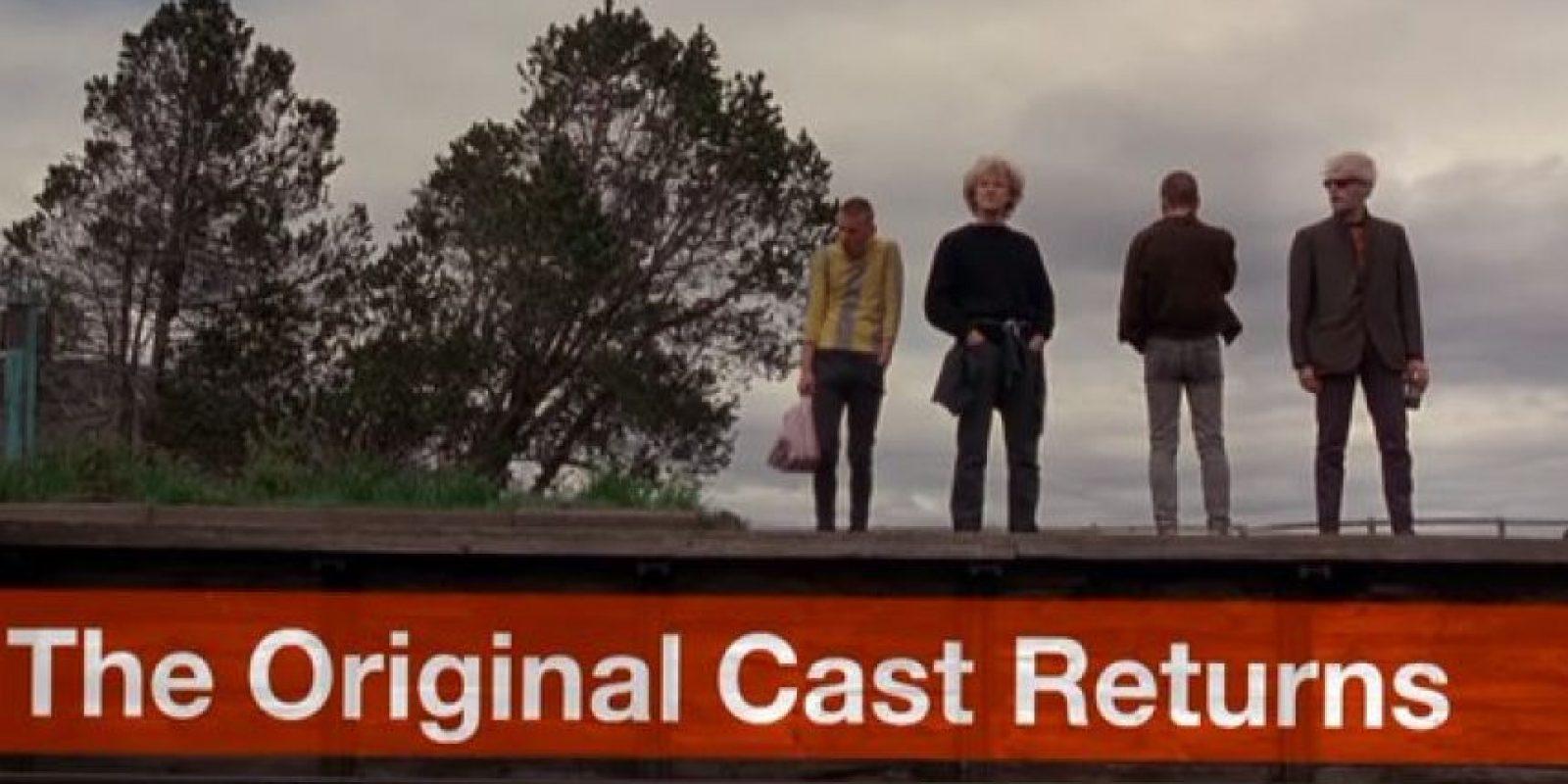 Con el elenco original Foto: Sony Pictures Releasing UK
