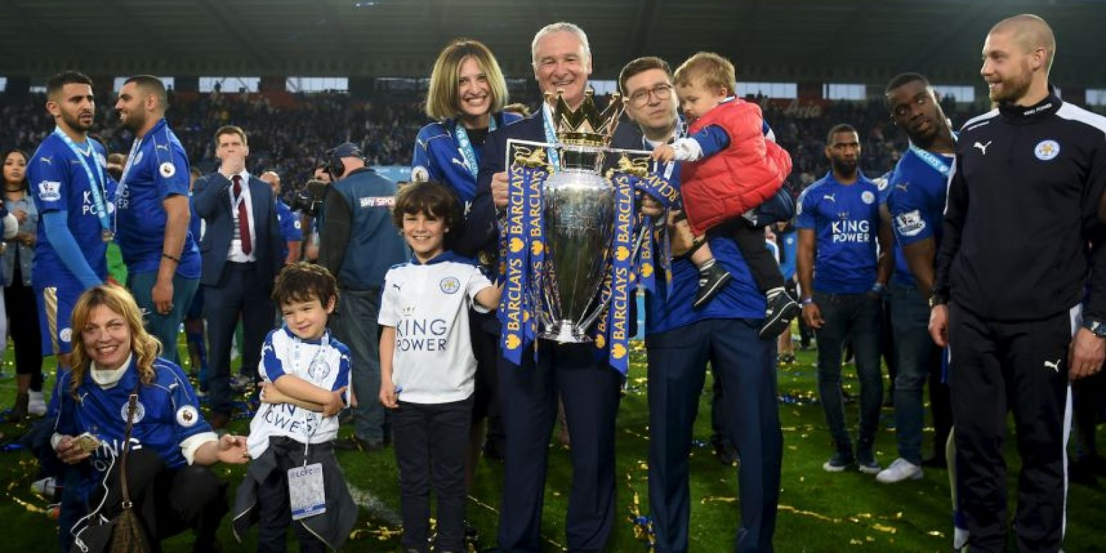 Llevó al Leicester al campeonato de la Premier League Foto:Getty Images