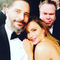 """Incluso él agradeció su cariño y amor en Twitter publicando: """"Amo a mi esposa"""". Foto:Vía Instagram/@sofiavergara"""