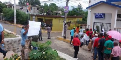 Militarizan sedes de la Junta Municipal Electoral por posibles incidentes