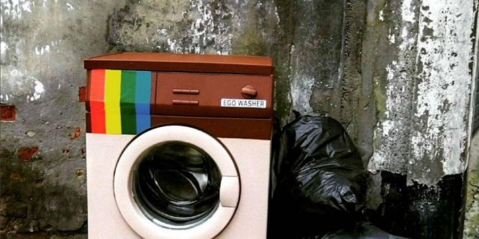 Biancoshock instalado 12 piezas en todo el pueblo de la provincia de Civitacampomarano. Foto:instagram.com/biancoshock/