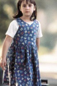 "Mara Wilson se hizo popular por ""Matilda"". Foto:vía Paramount"