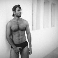 Jwan Yosef presume sus músculos Foto:Vía instagram.com/ricky_martin