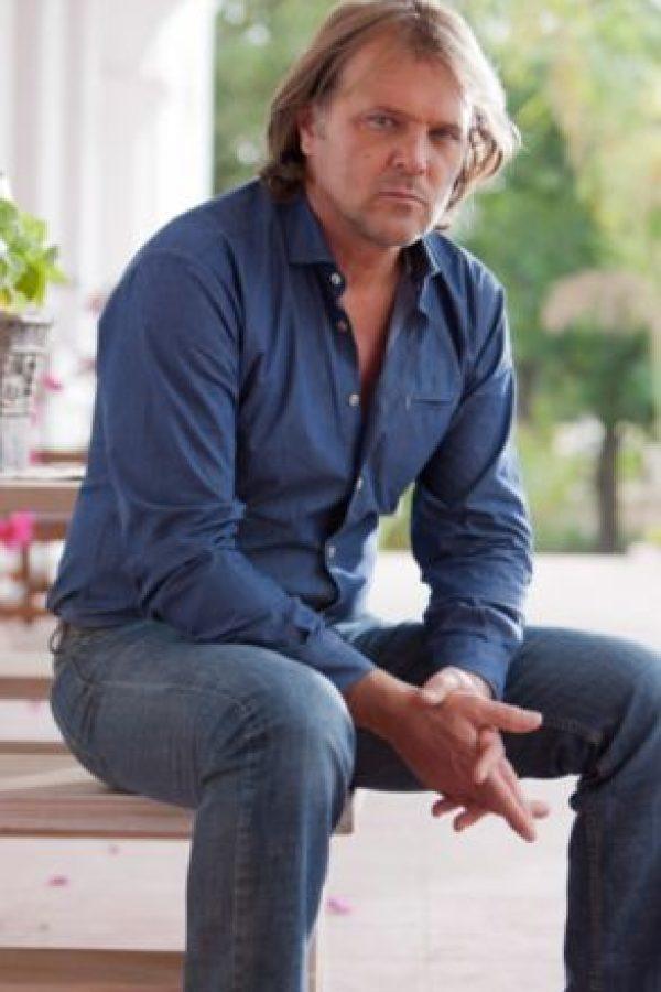 René Strickler, argentino, fue el galán de las novelas mexicanas en los 90. Foto:vía Televisa