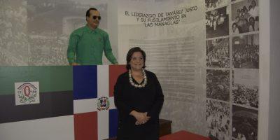 Luisa De Peña, directora del Museo Memorial de la Resistencia Dominicana. Foto:Fuente Externa