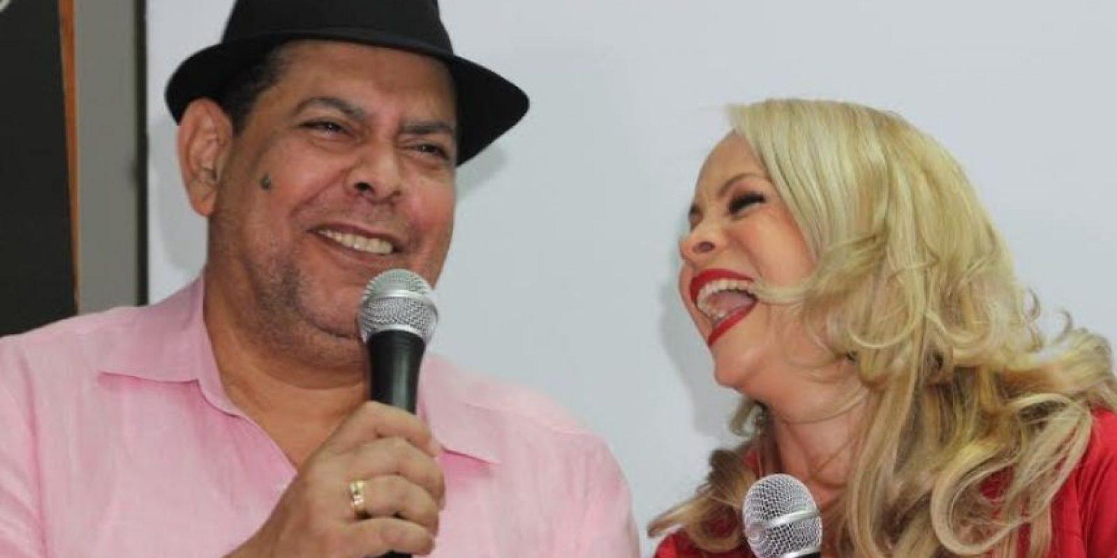 Fernando Villalona y Miriam Cruz Foto:Fuente Externa