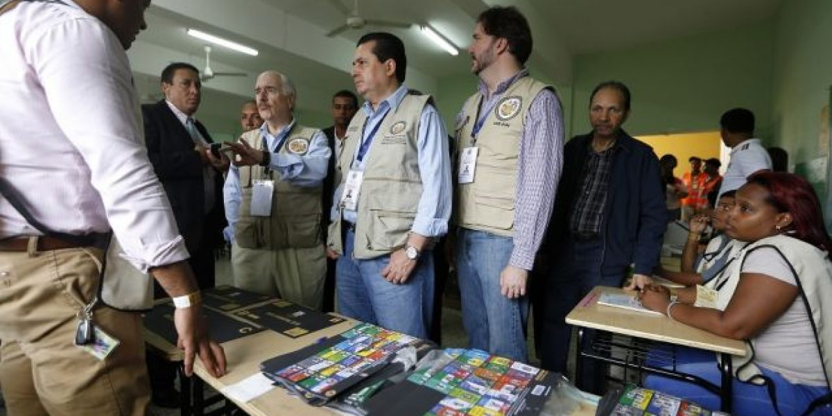 """Misión OEA: RD necesita una """"profunda"""" reforma electoral"""