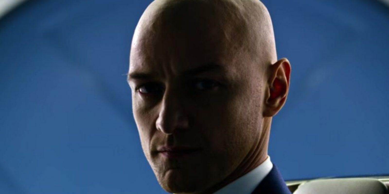 Profesor X (James McAvoy). Sus poderes son la telepatía y la posesión mental. Foto:Fuente externa