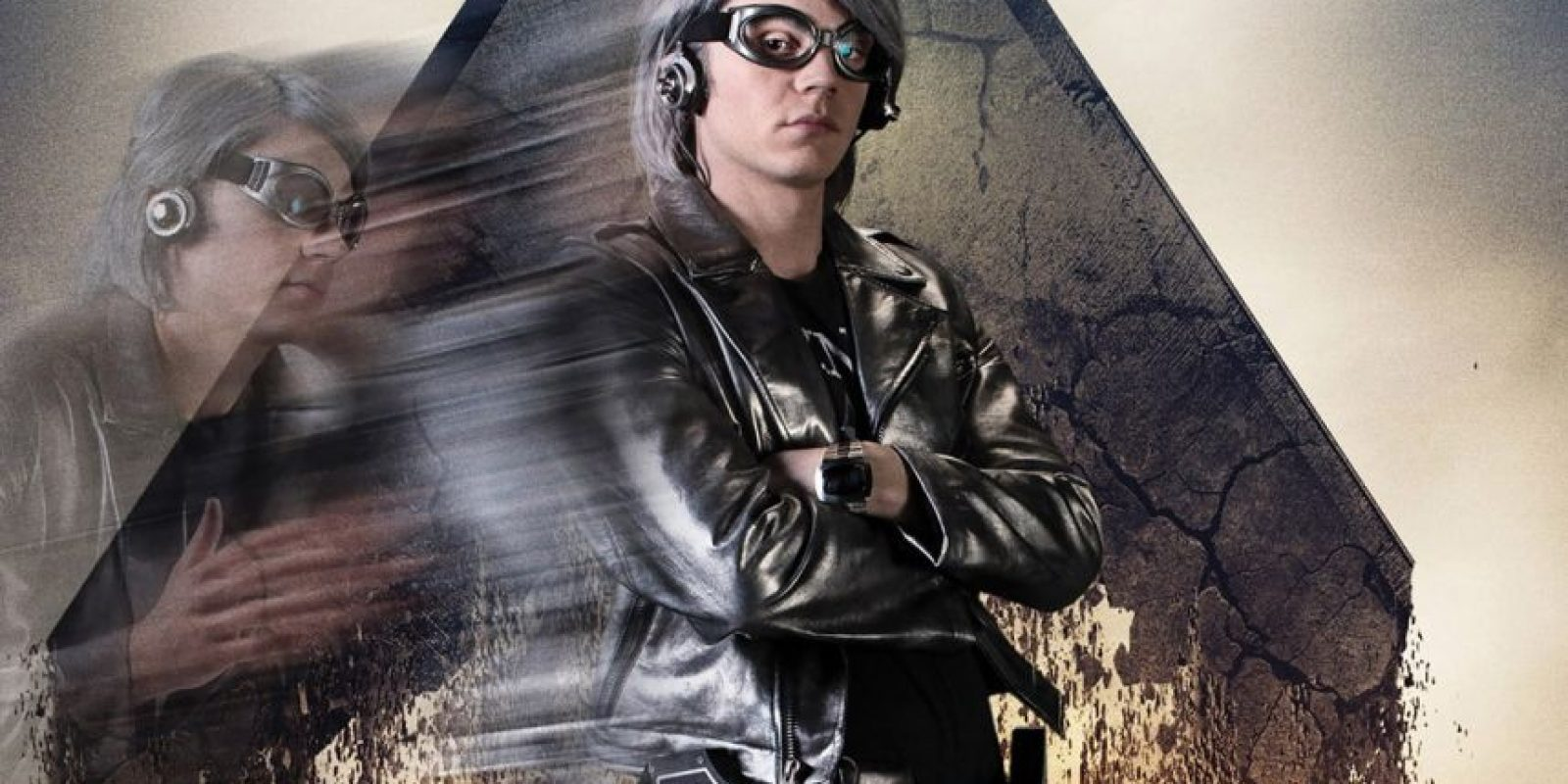 Quicksilver (Evan Peters). Su poder principal es poder moverse a las velocidades superiores, incluso las del sonido. Foto:Fuente externa