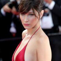 Así llegó la modelo a la alfombra roja del festival Foto:Getty Images