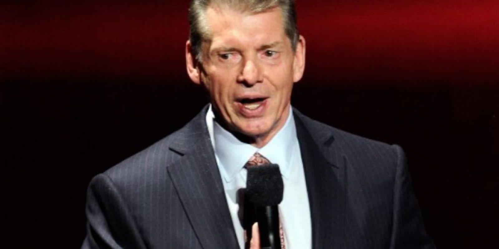 Vince McMahon ahora tiene 48.09% de las acciones de la empresa Foto:WWE