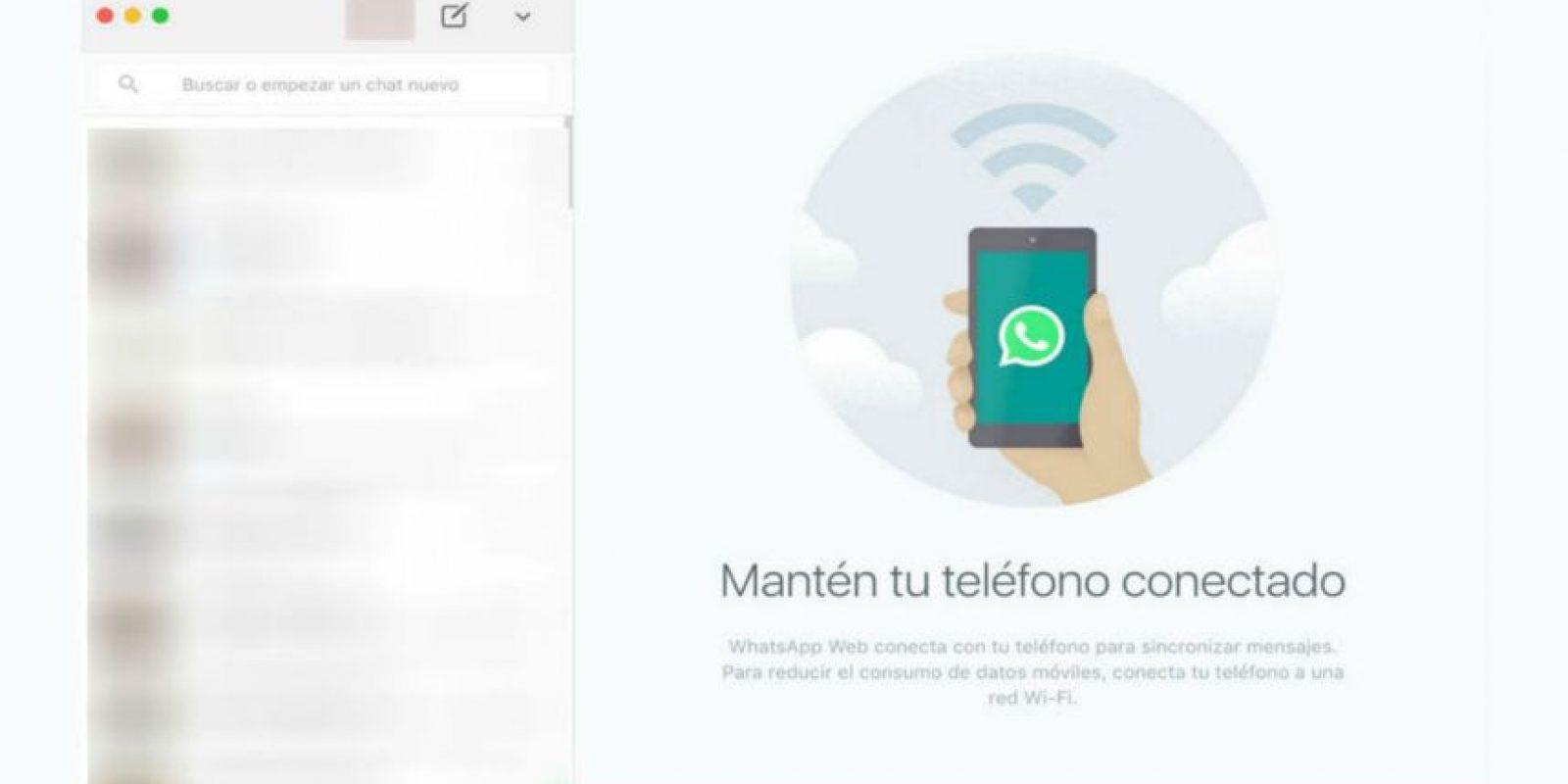 Esta aplicación tiene funciones muy parecidas a la web Foto:WhatsApp