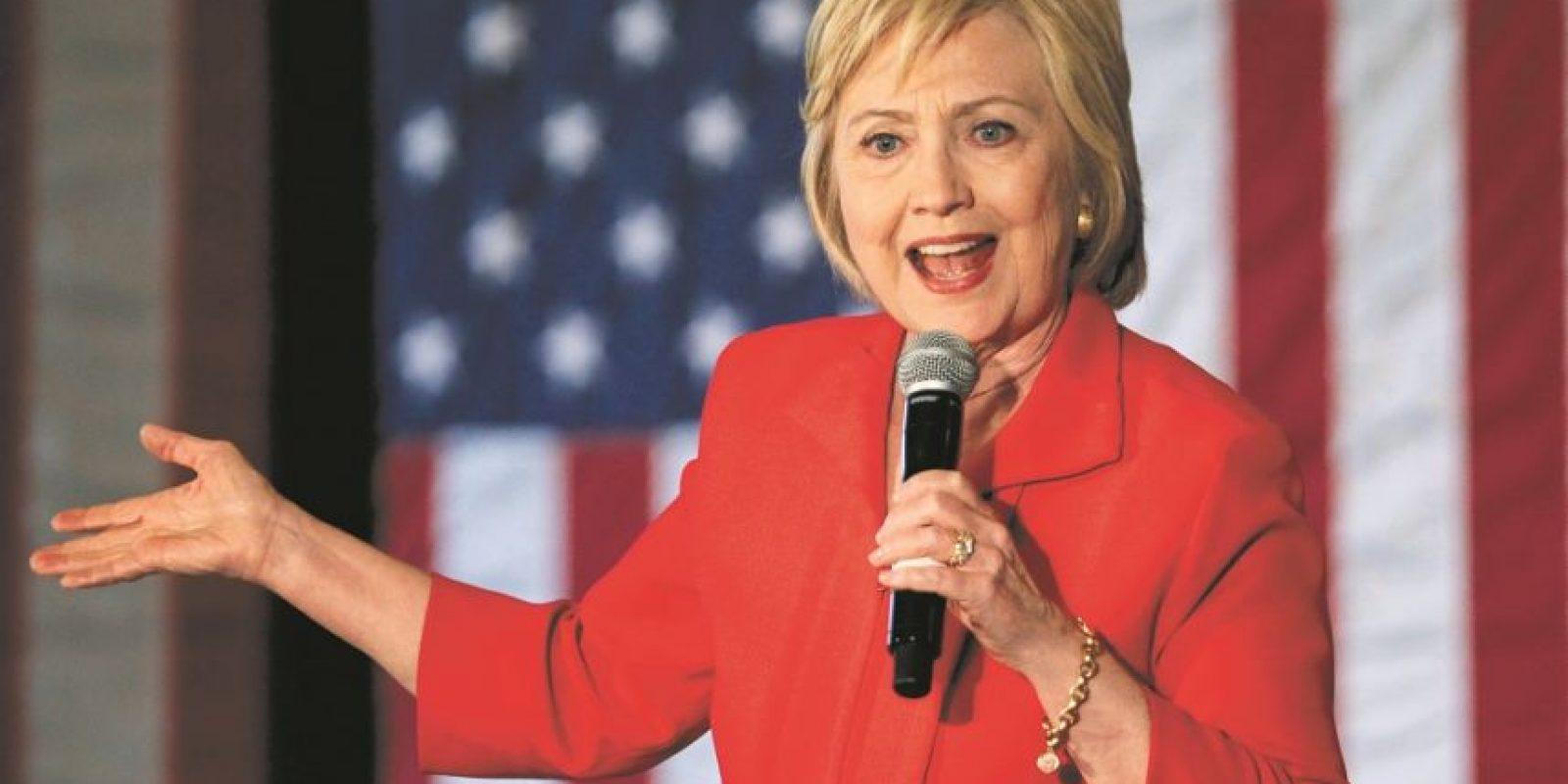 Hillary irá contra Trump por la Casa Blanca. Foto: Getty