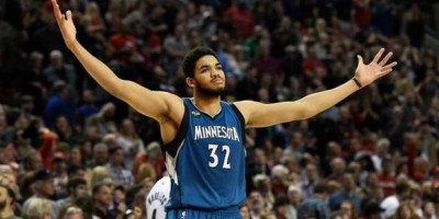 Towns encabeza equipo ideal de novatos en NBA