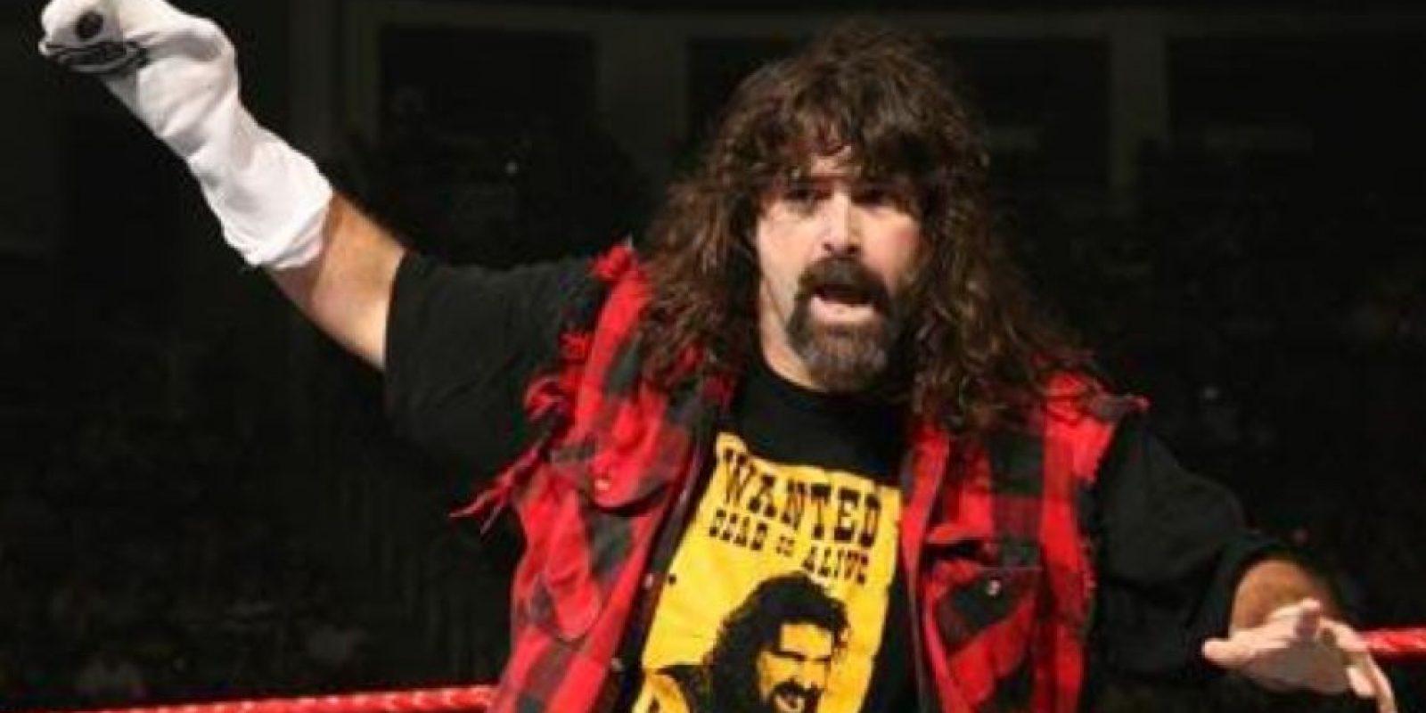 """Mick Foley es considerado como la """"Leyenda del hardcore"""" Foto:WWE"""