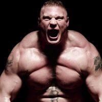 Brock Lesnar y su rudeza total Foto:WWE
