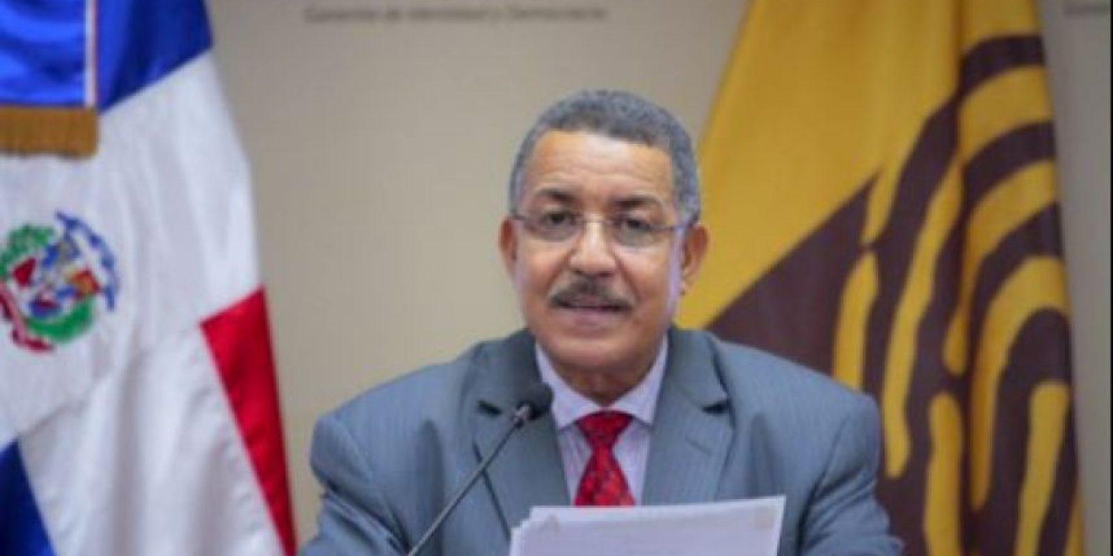 Félix Reyna, vocero de la JCE Foto:@juntacentral