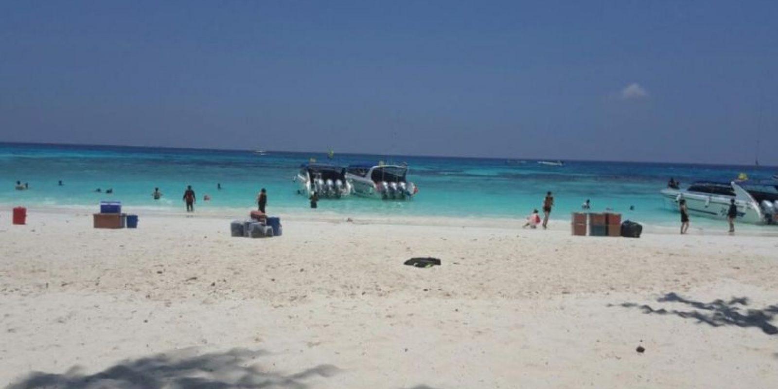 Así lucen las playas en la isla de Koh Tachai. Foto:tripadvisor.com