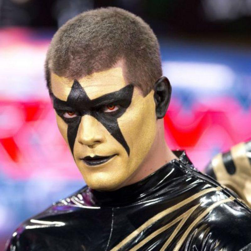 Peleaba con la identidad de Stardust desde 2014 Foto:WWE