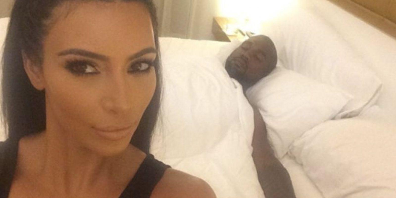Kim Kardashian alertó a todos con un supuesto tercer embarazo Foto:vía instagram.com/kimkardashian