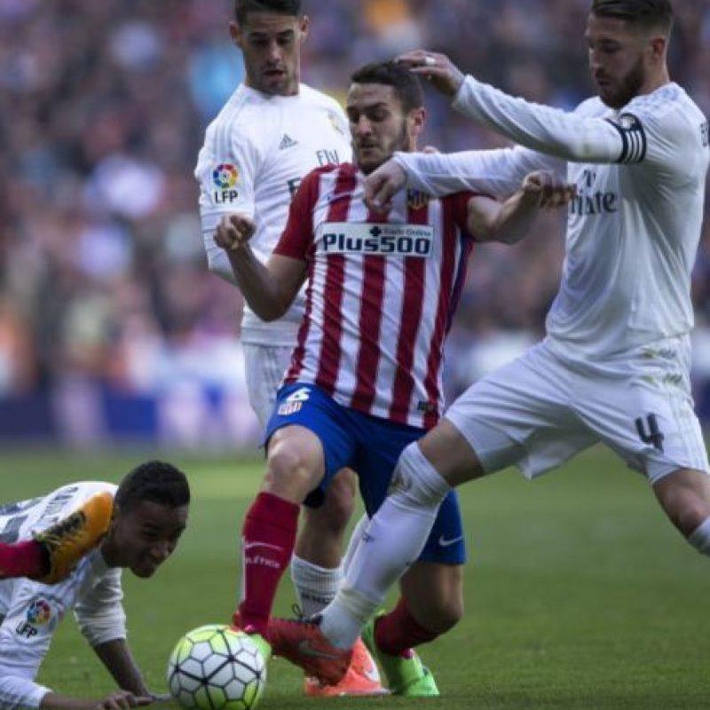 """El """"Atleti"""" solo ha perdido un partido de los últimos 10 disputados ante los blancos Foto:Getty Images"""