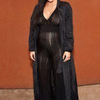 """Kim por lo menos ha tratado de bajar su imagen de """"nueva rica"""". Foto:vía Getty Images"""