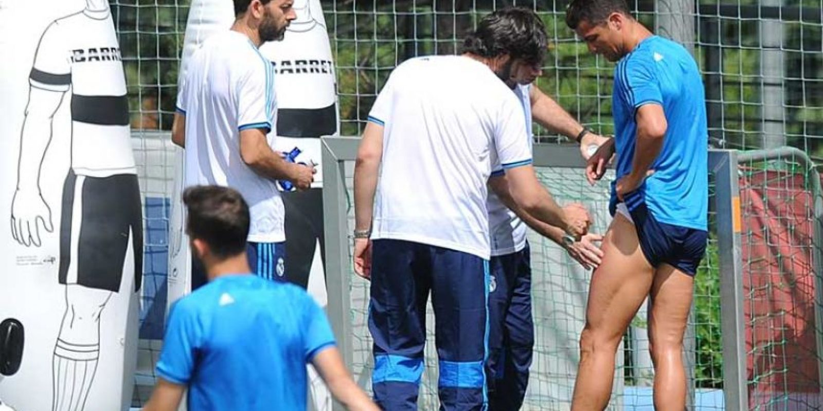 """El temor del madridismo es que """"CR7"""" no esté al cien por ciento para la final de Milán. Foto:Getty Images"""