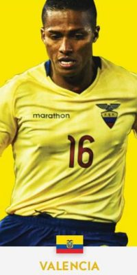 Enner Valencia (Ecuador/) Foto:ca2016.com