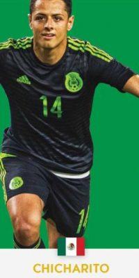 "Javier Hernández ""Chicharito"" (México/Bayer Leverkusen) Foto:ca2016.com"