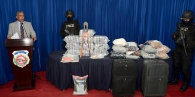 Descomisan más de 85 kilos de cocaina en muelles y aeropuerto de Punta Cana