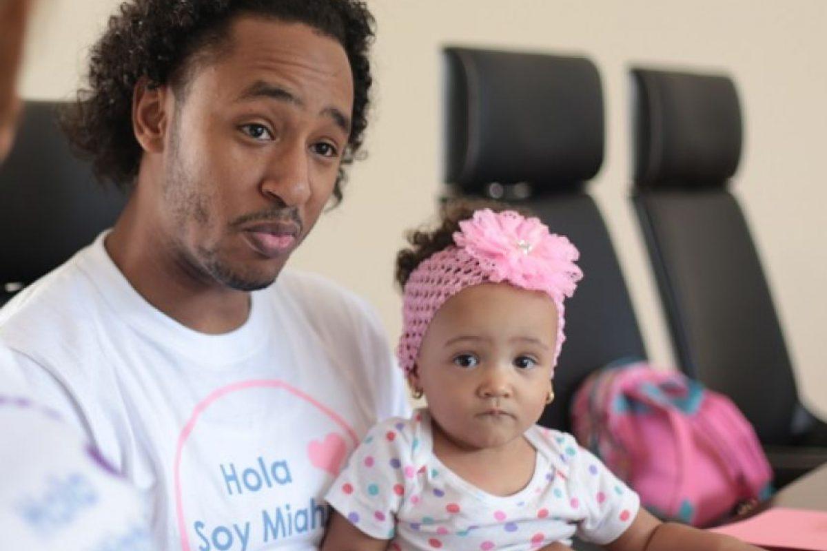 La familia de Miah lucha para recaudar más de RD$1,3 millones. Foto:Roberto Guzmán