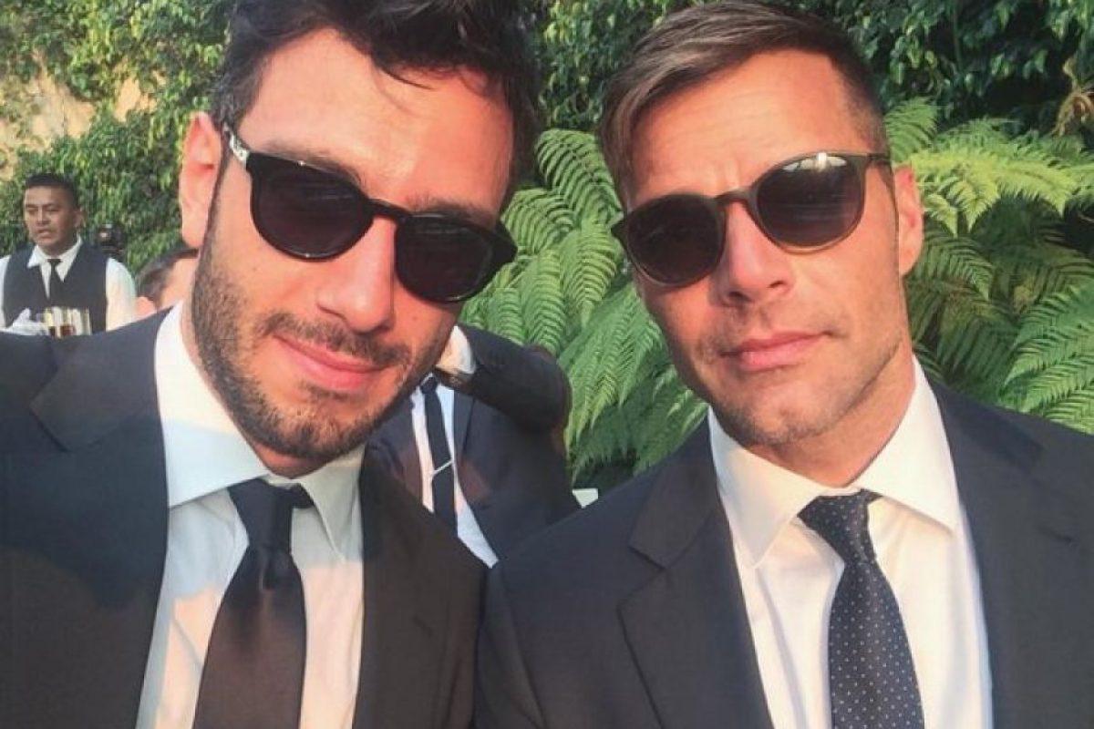 Asistieron a la boda deEva Longoria Foto:Vía instagram.com/ricky_martin/