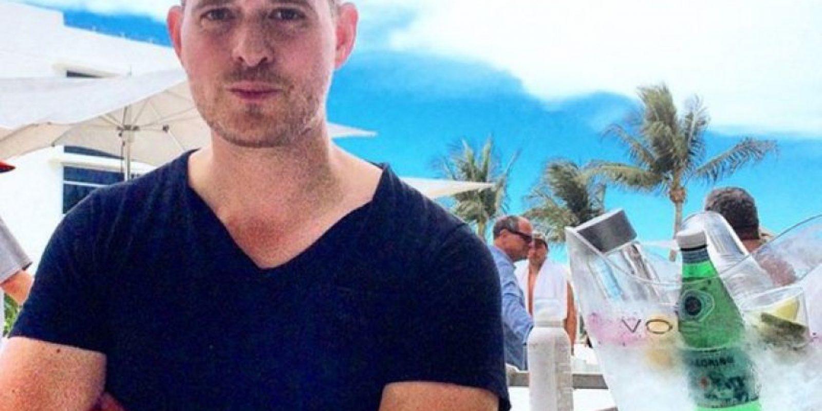El cantante anunció su retiro Foto:Vía instagram.com/michaelbuble