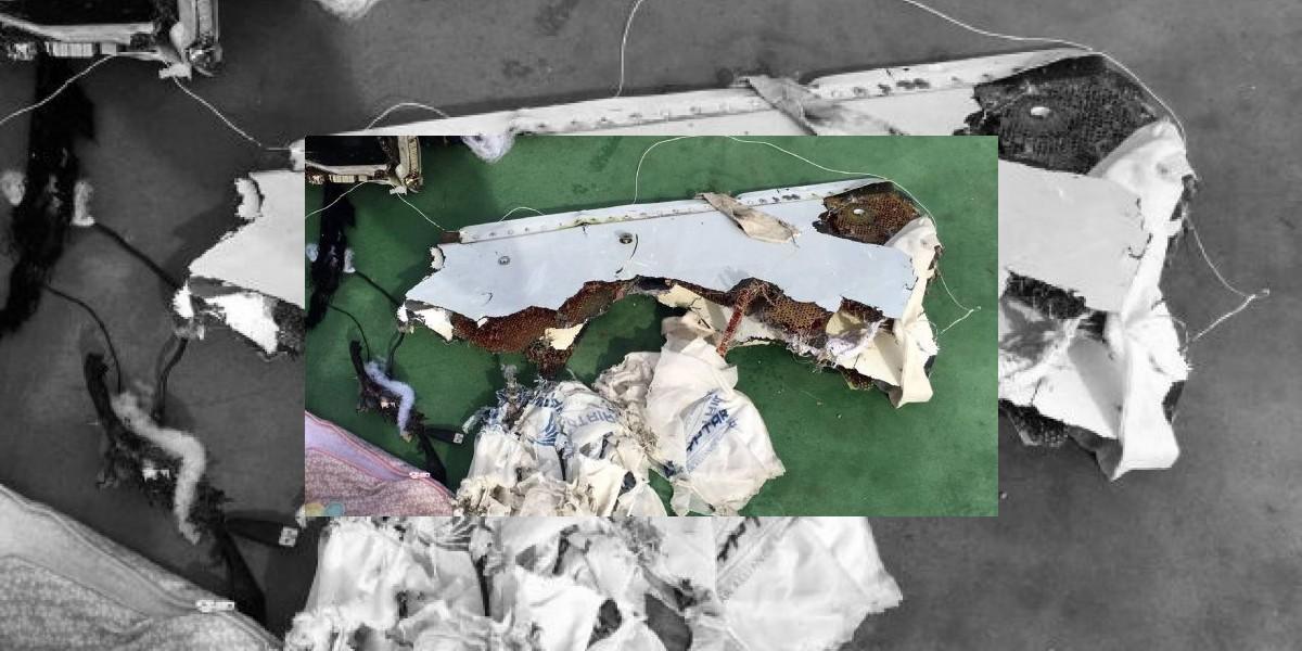 Investigación sobre tragedia del avión de Egipto no confirma una explosión
