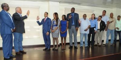 Juramentan Comité Organizador de los Juegos de la Juventud