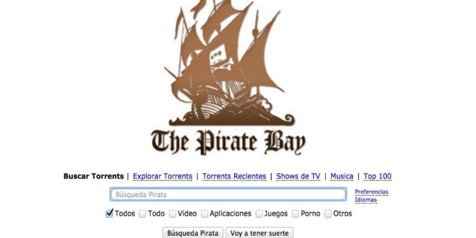 Cientos de compañías productoras han exigido a las autoridades su cierre. Foto:The Pirate Bay