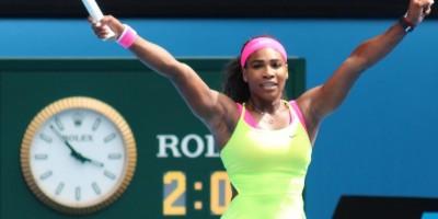 Serena Williams avanza en el Roland Garros a ganarle de la brasileña Pereira
