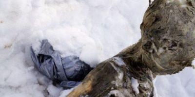 Se supo que el primer cuerpo perteneció a un hombre de entre 52 y 71 años Foto:AFP