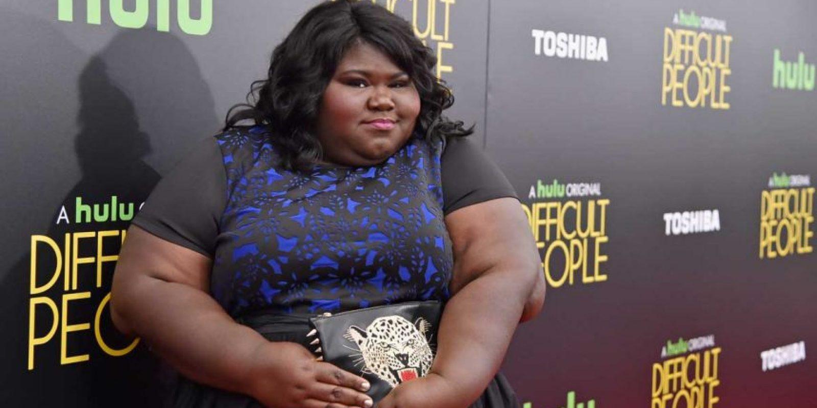 La actriz Gabourey Sidibe no ha perdido peso, al menos ella no lo ha confirmado Foto:Getty Images